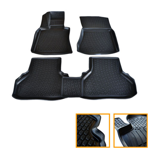 TAPIS CAOUTCHOUC BMW X6 E71 E72 2008-2015 TOUS MODELES SOL 3D TPE SUR MESURE