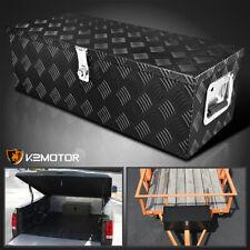 30 Heavy Duty Black Aluminum Tool Box Truck Pickup Trailer Storagelockkeys
