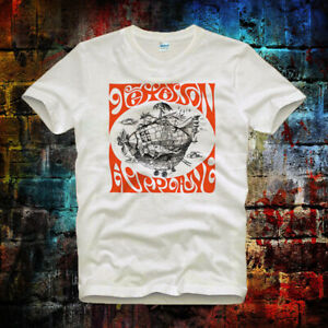 Jefferson-Airplane-Last-Ship-Psychedelic-Tee-Top-Vintage-Men-Ladies-T-Shirt-B590