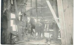 Real-Photo-RPPC-Men-At-Elevator-Wheel-1910