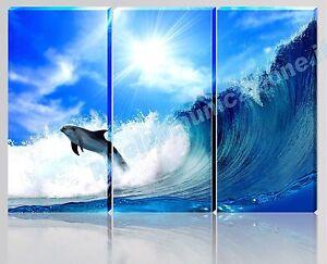Quadro su vetro quadro moderno occhio blu onda gca