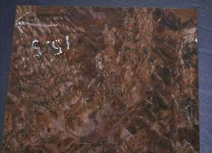 Walnut Burl Raw Wood Veneer Sheets 8 x 11.5 inches 1//42nd thick        8707-44