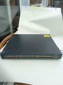Intelligente Cisco Catalyst Ws-c3550-48-smi 48-ports External Switch Géré Empilable-i 48-ports External Switch Managed Stackable Fr-fr Afficher Le Titre D'origine