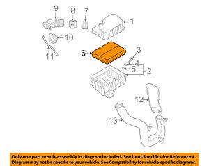 image is loading hyundai-oem-01-06-santa-fe-engine-air-