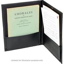 Musical Instrument Sheet Music Folder Choir W Pencil Loop Paper Document Holder
