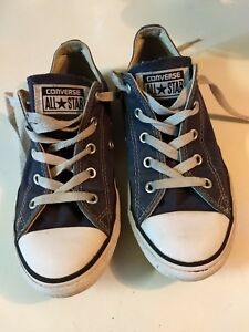 a01ab5944de929 Converse Chuck Taylor All Star Gray Blue Shoes Low Top Youth Kids ...