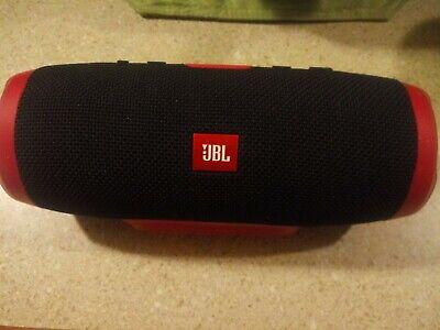Red New JBL Charge 3 JBLCHARGE3REDAM Portable Waterproof Speaker System