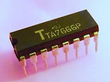 2x TA7666P 5 Step Logarithmic Dual LED Driver (Stereo VU-Meter), Toshiba