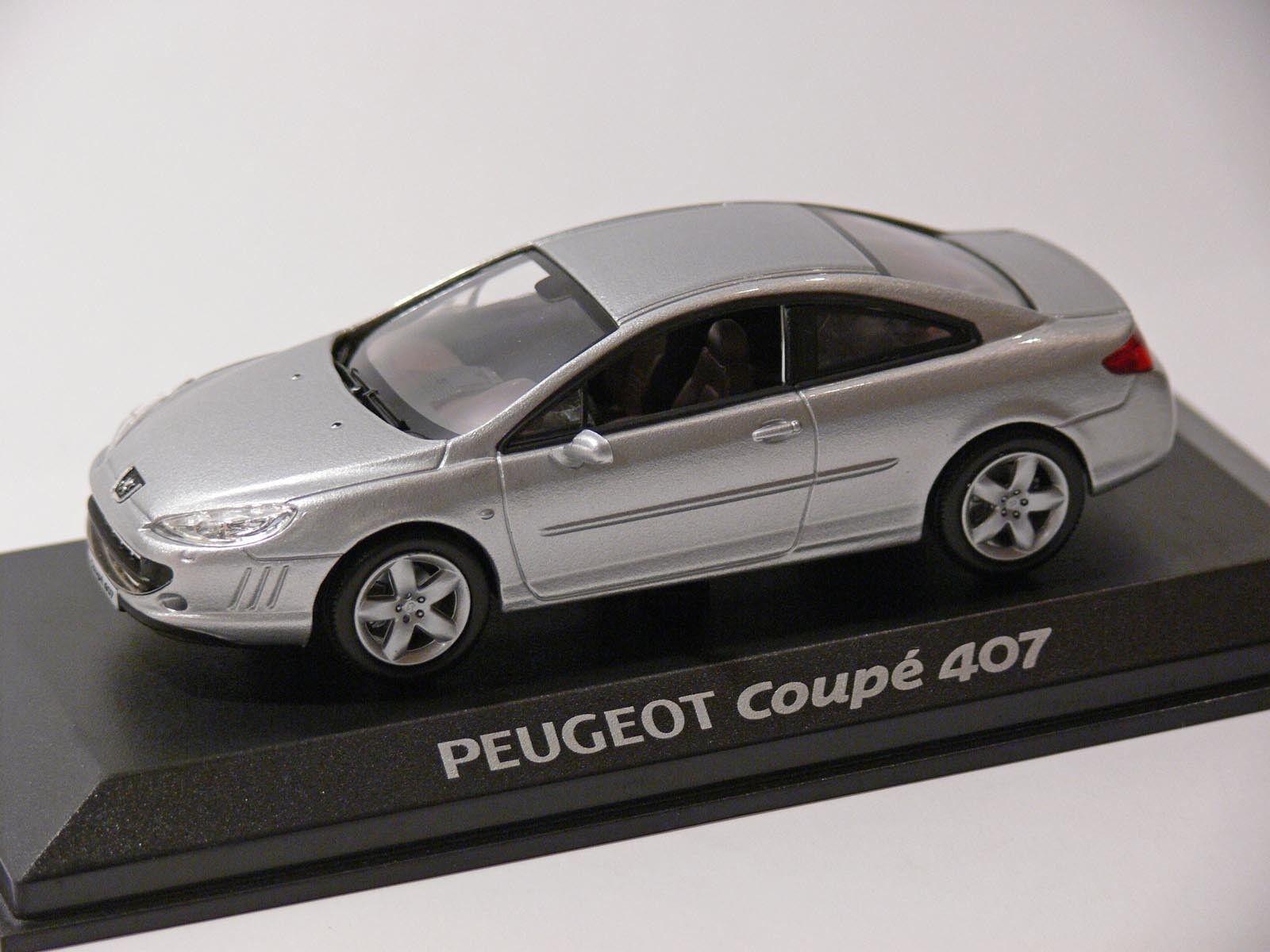 Peugeot 407 coupé argent, argent, argent, 1 43, Norev 0dbe5b