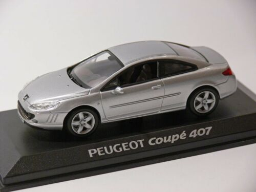 NOREV 1:43 Peugeot 407 Coupe silber