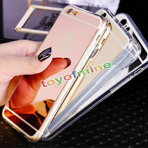Etui-Housse-Coque-Luxe-Miroir-Bumper-Case-Cover-rigide-pr-iPhone-7-5S-SE-6S-Plus