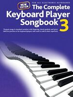 The Complete Keyboard Player: Songbook 3 Edition Sheet Music Piano 014043104