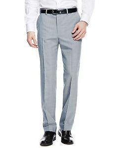 EX-M-amp-S-Marks-And-Spencer-Supercrease-Active-Waistband-Trousers