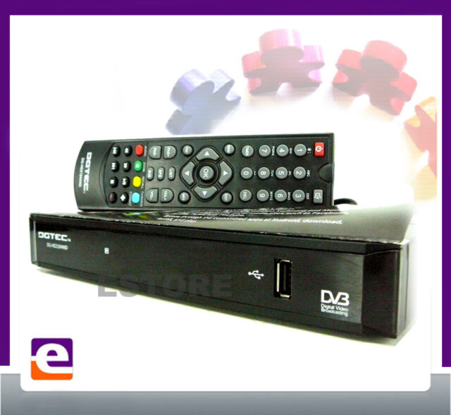 HD DIGITAL TV SET TOP BOX with USB PVR MEDIA PLAYER & INTERNET BROWSING HDMI
