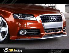 Audi A4 B8 Preface (not S line) - Front bumper spoiler