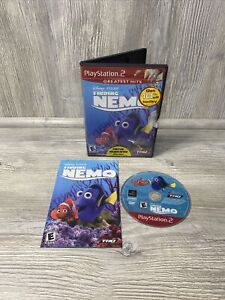 NICE DISC! Finding Nemo Disney Pixar PlayStation 2 PS2 Greatest Hits Complete #2