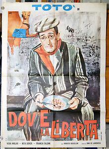 manifesto-2F-film-TOTO-039-DOV-039-E-039-LA-LIBERTA-039-Toto-Franca-Faldini-Nyta-Dover