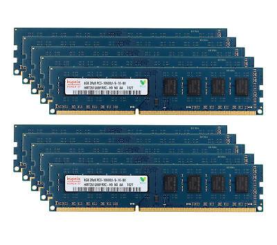 CL9 Memory 1333MHz PC3-10600 DDR3 Desktop 8GB For 2Rx8 Intel 240PIN DIMM RAM Lot