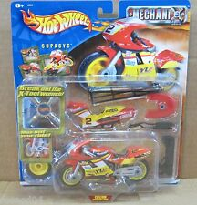 Mechanix Vehicles Supacyc Custom Super Bike Shop Model Kit 15 Parts To Transform