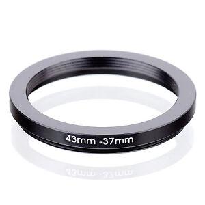 43mm 52-43mm Adaptador filtro adaptador anillo step-down 52mm