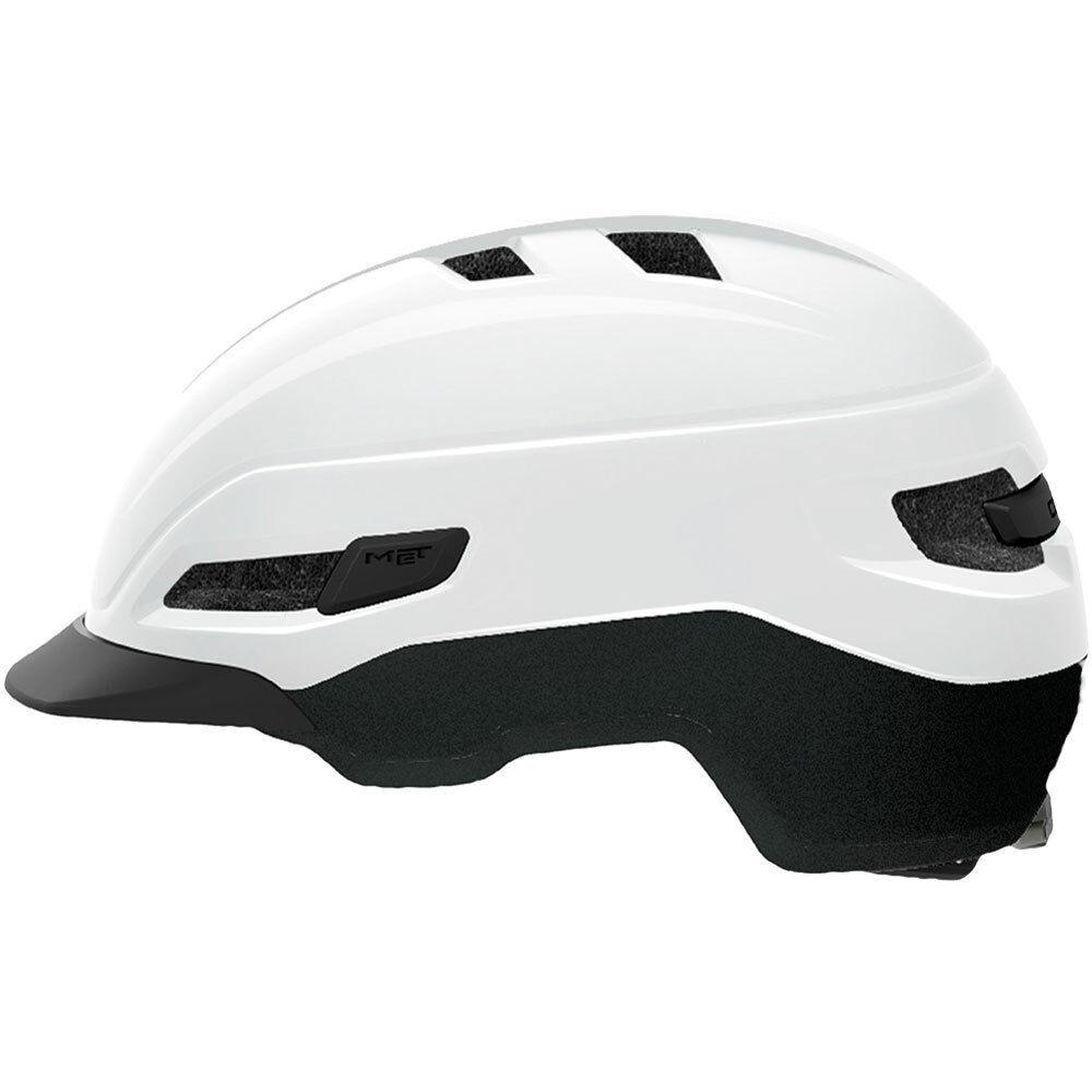 Met HELMET  Gran Corso  Taille S 52-56cm mod.18 Glossy blanc 3hm113s0bi1 8015190253305