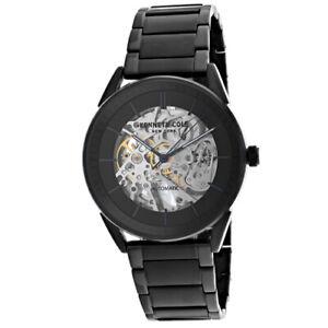 d8543bab52f Kenneth Cole Men s Skeleton 42mm Steel Bracelet Automatic Watch KC50192007