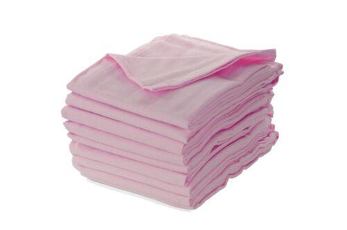 Moltontuch rosa kochfest Spucktücher Moltontücher Mullwindeln Babyunterlage