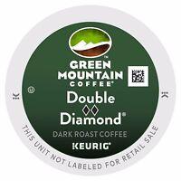 48 Kcups, Green Mountain Double Black Diamond Coffee, Free Shipping