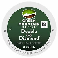 24 Kcups, Green Mountain Double Black Diamond Coffee, Free Shipping
