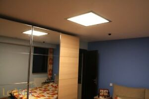 Plafoniera Incasso Led 60x60 : Pannello 48w luce calda naturale 4500k led quadrato 60x60 cm incasso