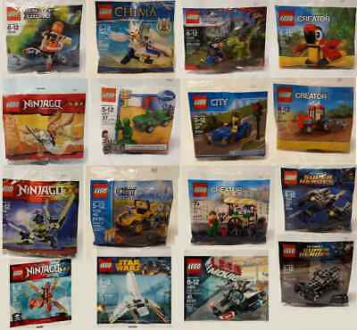Your Choice LEGO Polybags Star Wars CITY Ninjago Creator Disney Super Heroes