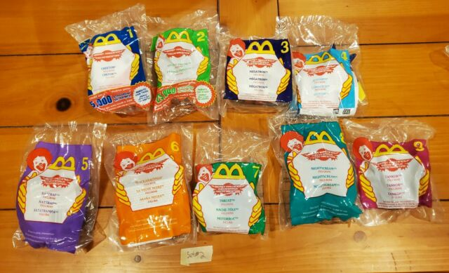Transformers Beast Machines McDonald's Happy Meal Toys 2000 Complete Set of 9