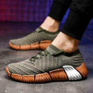 Men-Running-Shoes-Breathable-Outdoor-Sports-Mesh-Sneakers-Sock-Shoes-US-SIZE