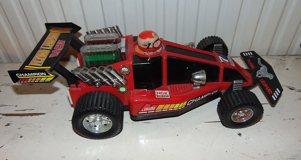 Race voiture  – Vintage Kuang Wu Toys  - 1987 – tested and working - VERY RARE  vente avec grande remise