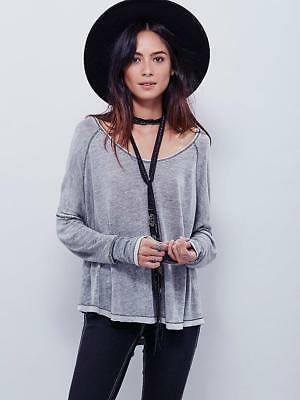 FREE PEOPLE *MACCHIATO* SLOUCHY DRAPERY FIT~HIPPIE TUNIC TANK TOP~L (SOLD OUT)