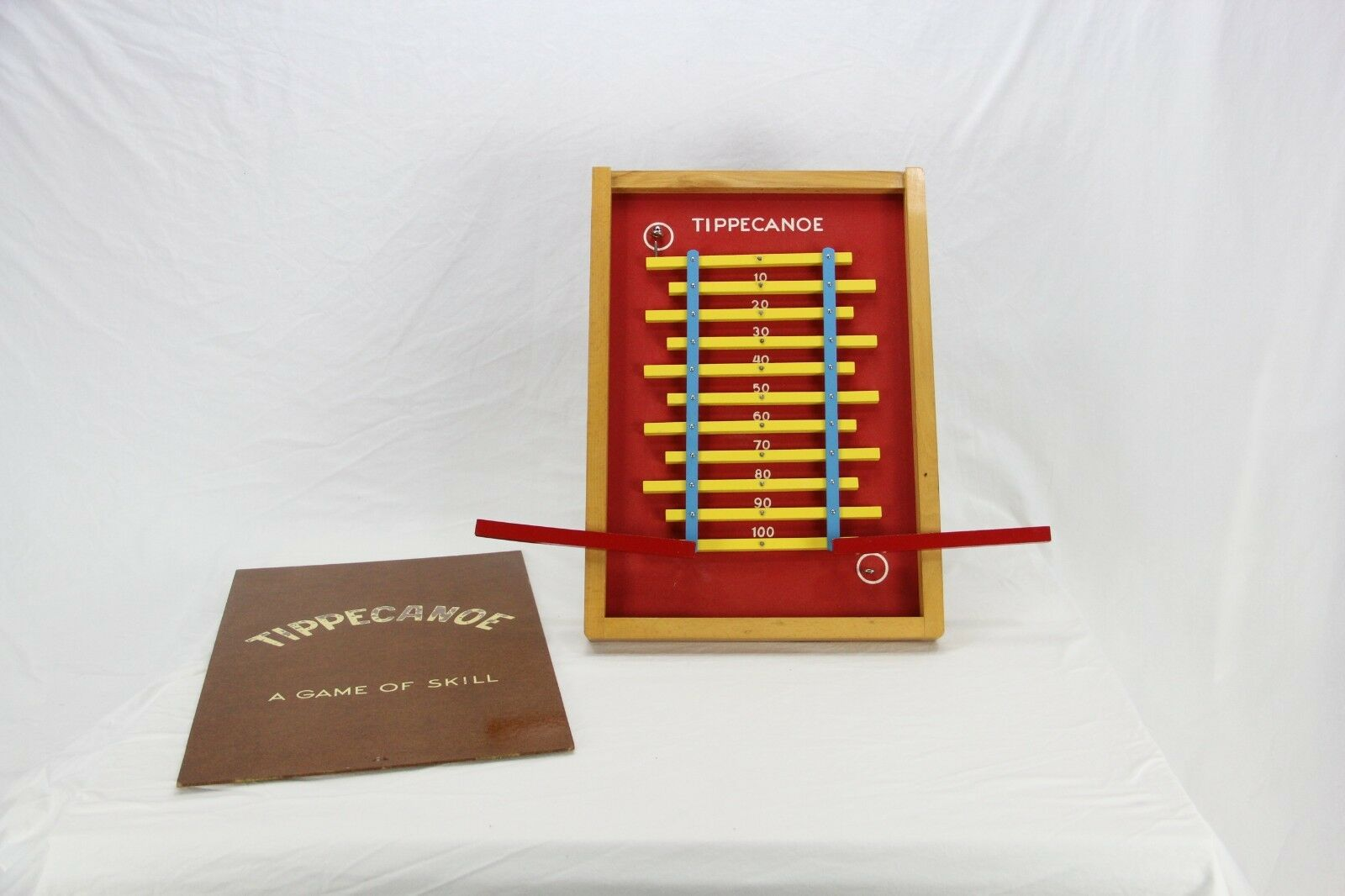 Vintage Mid Century Tippecanoe gioco Of Skill - BRIO Sweden Collectors Condition