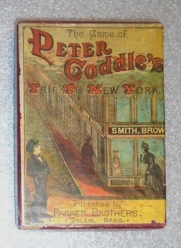 Antiguo Parker Brojohers Juego de Cochetas de Peter cubrirte viaje a Nueva York