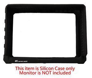 Black-Silicon-Rubber-Case-for-Lilliput-A7S-7-034-FullHD-HDMI-IPS-4K-Camera-Monitor