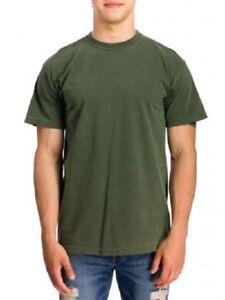Comfort-Colors-Garment-Dyed-Heavyweight-Ringspun-Short-Sleeve-T-Shirt-Green-XL