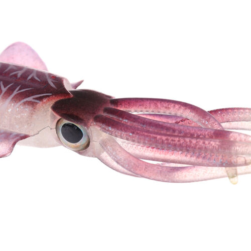 Fishing Soft Lure Luminous Squid Jig Fishing Lures Octopus Calamar Bait JigRSDE