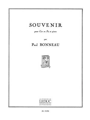 Musical Instruments & Gear Buy Cheap Paul Bonneau Souvenir Horn & Piano Learn To Play French Horn Sheet Music Book Agreeable To Taste Instruction Books, Cds & Video