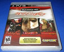 Devil May Cry HD Collection Sony PlayStation 3 *New!  *Sealed!  *Free Shipping!