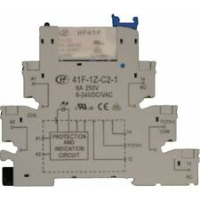 12v Relay Slim Montaje En Riel Din-Switch upto 6 Amp 250v-Alta Calidad