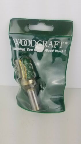 """Woodcraft router pattern bit 3//4/"""" 146997 CLX1//2/"""" New old stock"""
