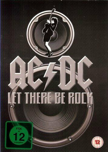 AC/DC - Let There Be Rock - DVD Video, Slipcase, 13 Classic Songs, 1980/2011 NEU