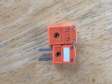 Mini N Type Thermocouple Wire Cable Connector Set Pair Male Female