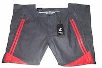 Mens Rocawear Rwj210b Slim Straight Fit Raw Dark Indigo/red Jeans Sz 36/32