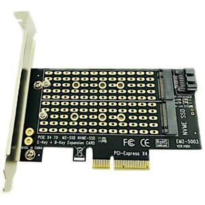 Pcie-To-M2-M-2-Adapter-M-2-Ngff-To-Desktop-Pcie-X4-X8-X16-Nvme-Sata-Dual-Ss-H9V2