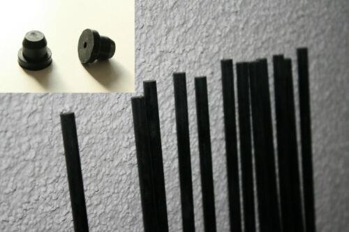 Ø3mm Glasfaserstab Sonnenfänger Drachenstab Drachen Suncatcher GFK Stab Stäbe