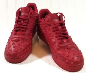 timeless design 5a899 41c0d Nike Air Force 1 Rare Shoes Low Star Independence Day 2015 Gym Red ...